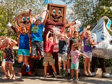 Hershey, PA (Hershey Park, Chocolate World)